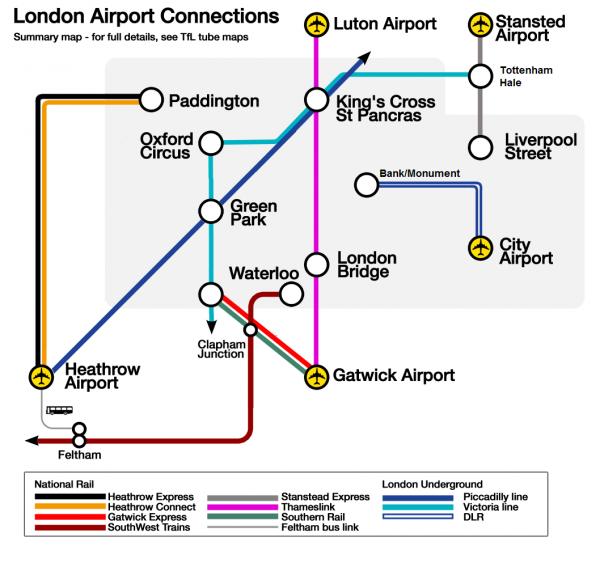 Temps De Trajet Aeroport Londres Stansted Centre Ville