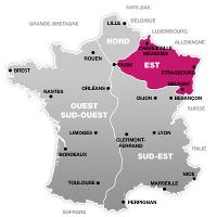 Prévision du trafic EST SNCF pour la grève du mardi 11 octobre 2011