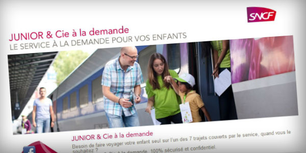 Application Facebook Junior&Cie de la SNCF