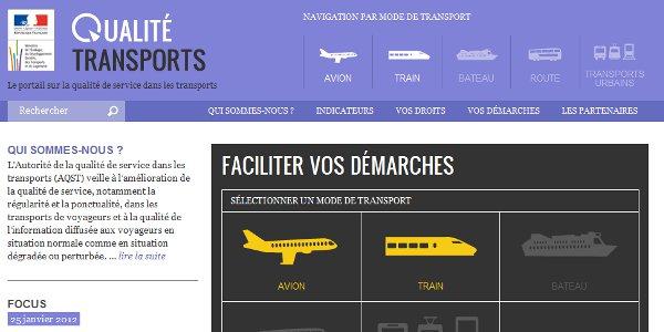 Un site pour informer les voyageurs et faciliter les démarches en cas de problème