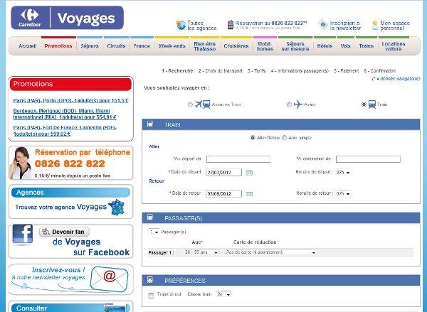 Carrefour Voyages Facilite Lachat Des Billets De Train