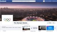 Les Jeux Olympiques sur Facebook