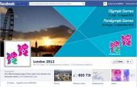 Les JO 2012 de Londres sur Facebook