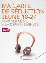 Carte SNCF Jeune 18-27