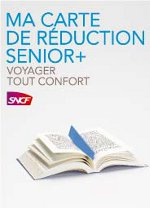 Carte reduction SNCF Senior+