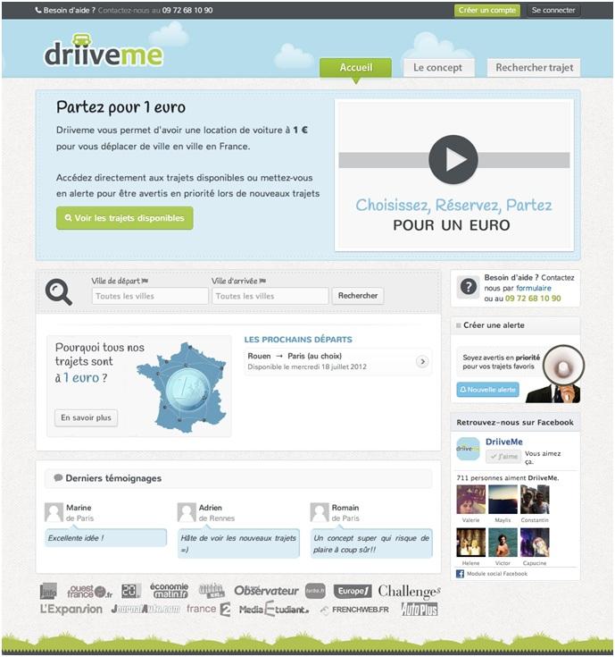 Présentation DriiveMe