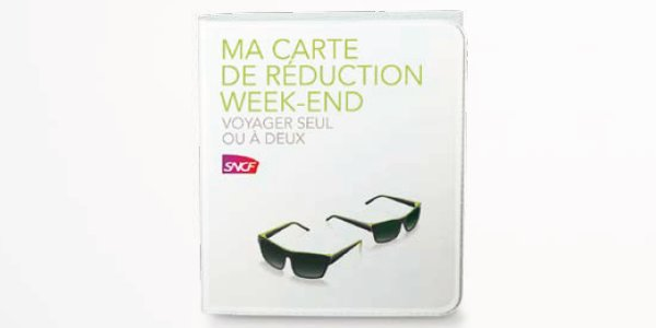 Carte réduction SNCF week-end