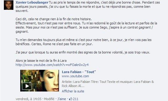 Xavier Leboulanger répond en chanson à la SNCF