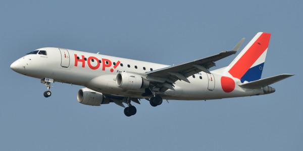 Hop ! : billets d'avion à partir de 49€ en France et en Europe
