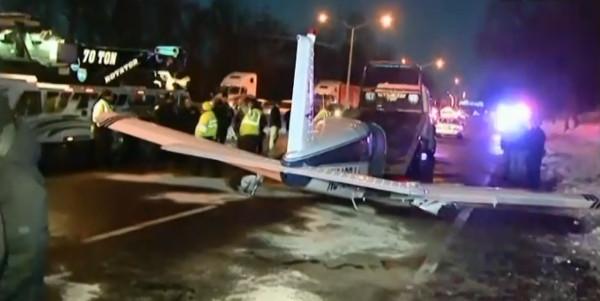 Un avion se pose en urgence sur... une autoroute de New-York