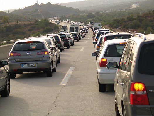 Des bouchons prévus sur les routes ce weekend
