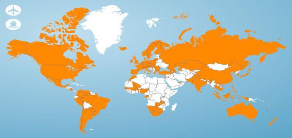 Couverture wifi par le fournisseur international d'accès au WiFi via Hotspot Trustive