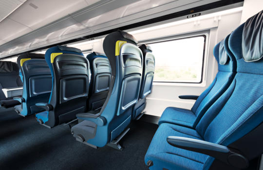 d couvrez en photos le nouveau look des trains eurostar kelbillet. Black Bedroom Furniture Sets. Home Design Ideas