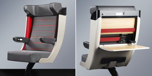 sncf un nouveau si ge tgv haut de gamme en premi re classe kelbillet. Black Bedroom Furniture Sets. Home Design Ideas