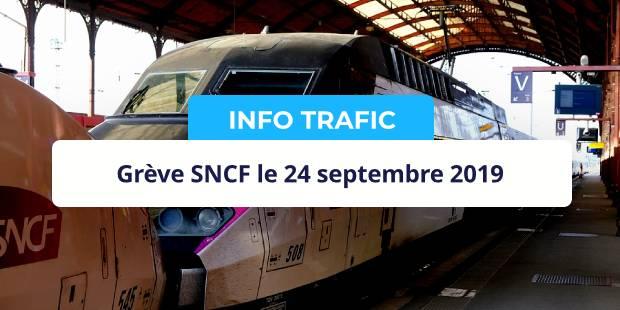 grève sncf 24 septembre