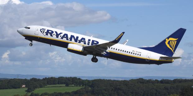 Billets Ryanair pas chers Novembre 2019