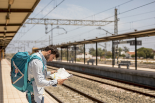 Improviser voyage train europe interrail