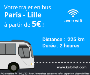 Paris Lille en bus