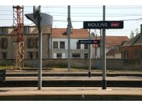 gare moulins sur allier t l phone horaires plan consigne parking h tel. Black Bedroom Furniture Sets. Home Design Ideas