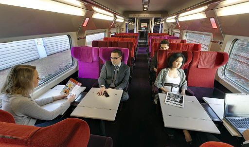 Thalys vos billets de train paris bruxelles partir de 22 for Interieur paris premiere